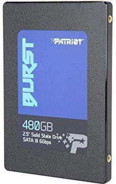 """SSD Interne 2.5"""" Patriot - 480 Go (vendeur tiers)"""
