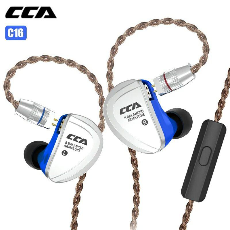Écouteurs CCA C16 - 16 drivers