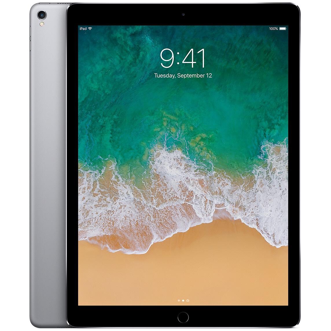 """Tablette 12,9"""" Apple iPad pro - WIFI, 128 Go, Noir (Recondiotionné Grade A+)"""