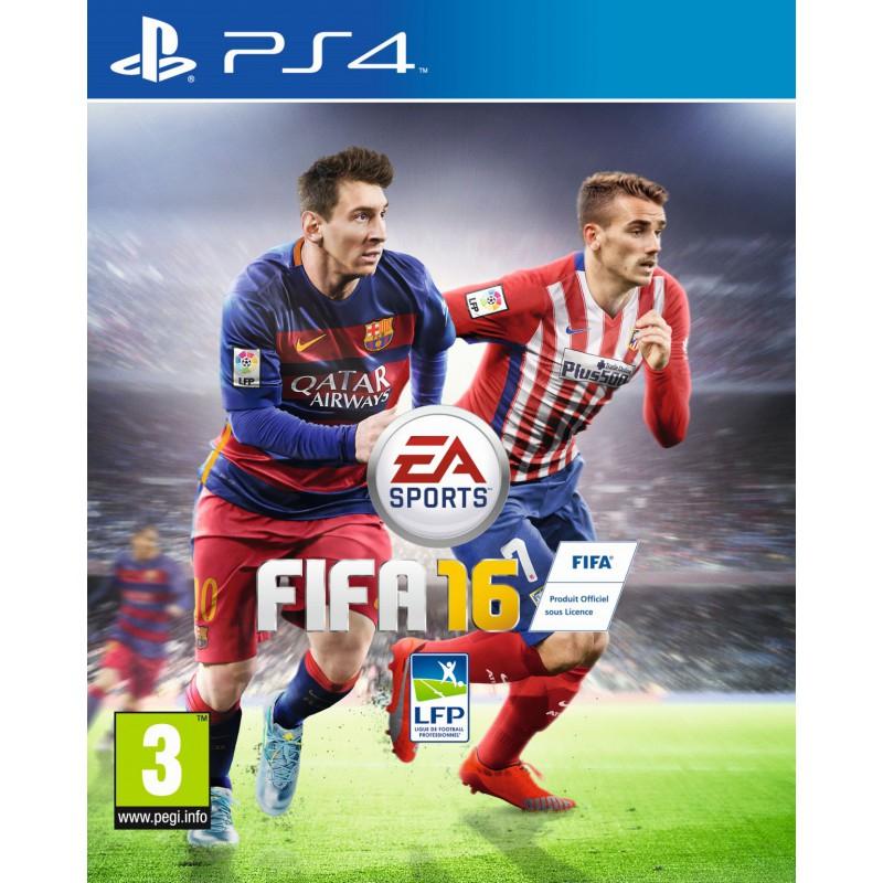 Jeu FIFA 16 sur Xbox One ou PS4 (occasion)