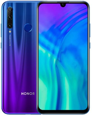 "Smartphone 6.2"" Honor 20 Lite - Full HD, 4 Go de RAM, 128 Go de ROM, Version Allemagne/Espagne/Italie (vendeur tiers)"