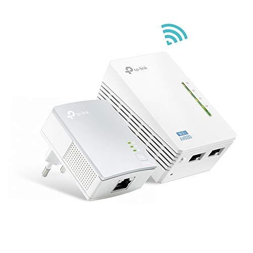 Kit CPL TP-Link TL-WPA4220 - 600Mbps avec 2 Ports Ethernet, 1 CPL Filaire + 1 CPL WiFi