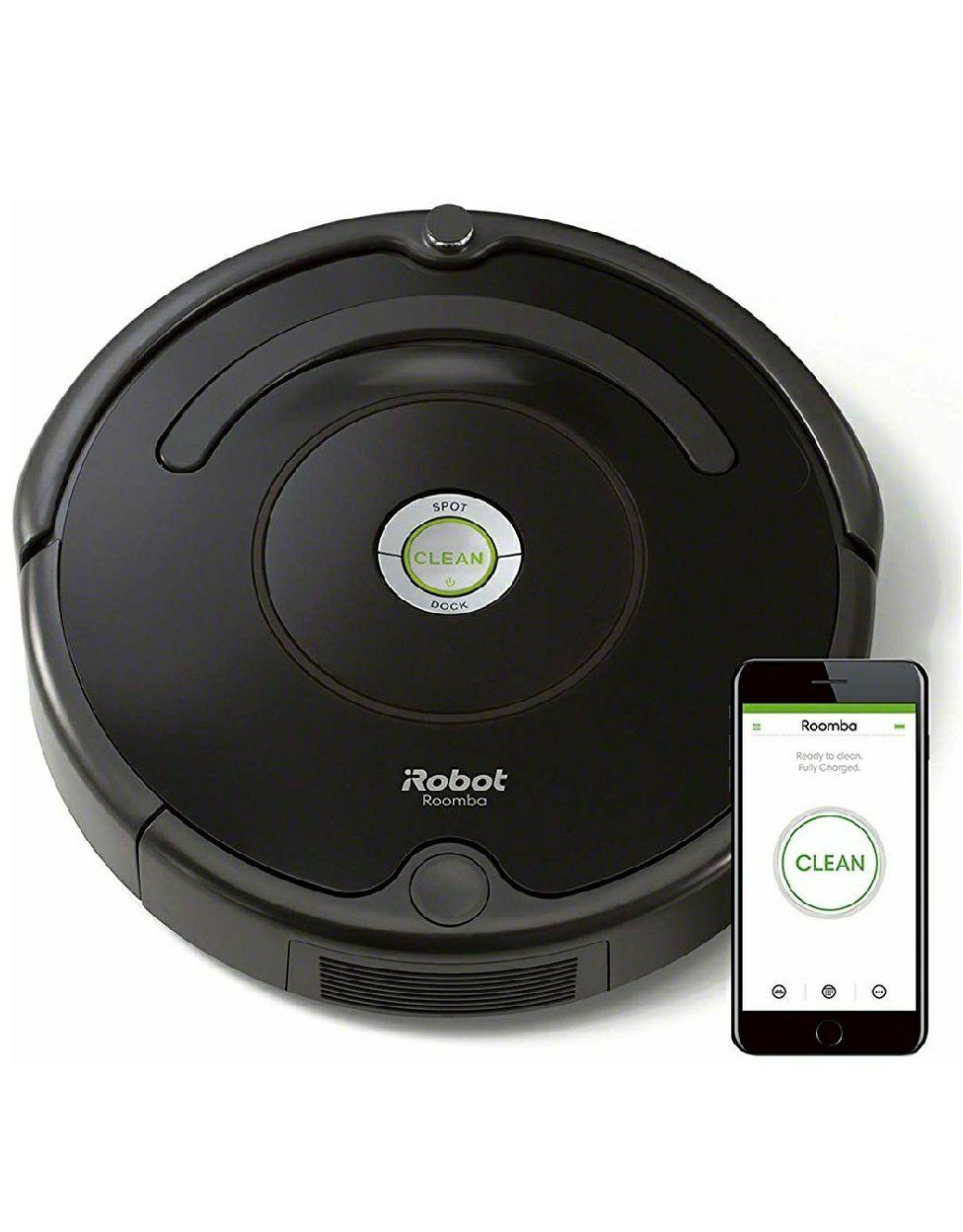 Aspirateur Robot pour Tapis et Sols Durs iRobot Roomba 671