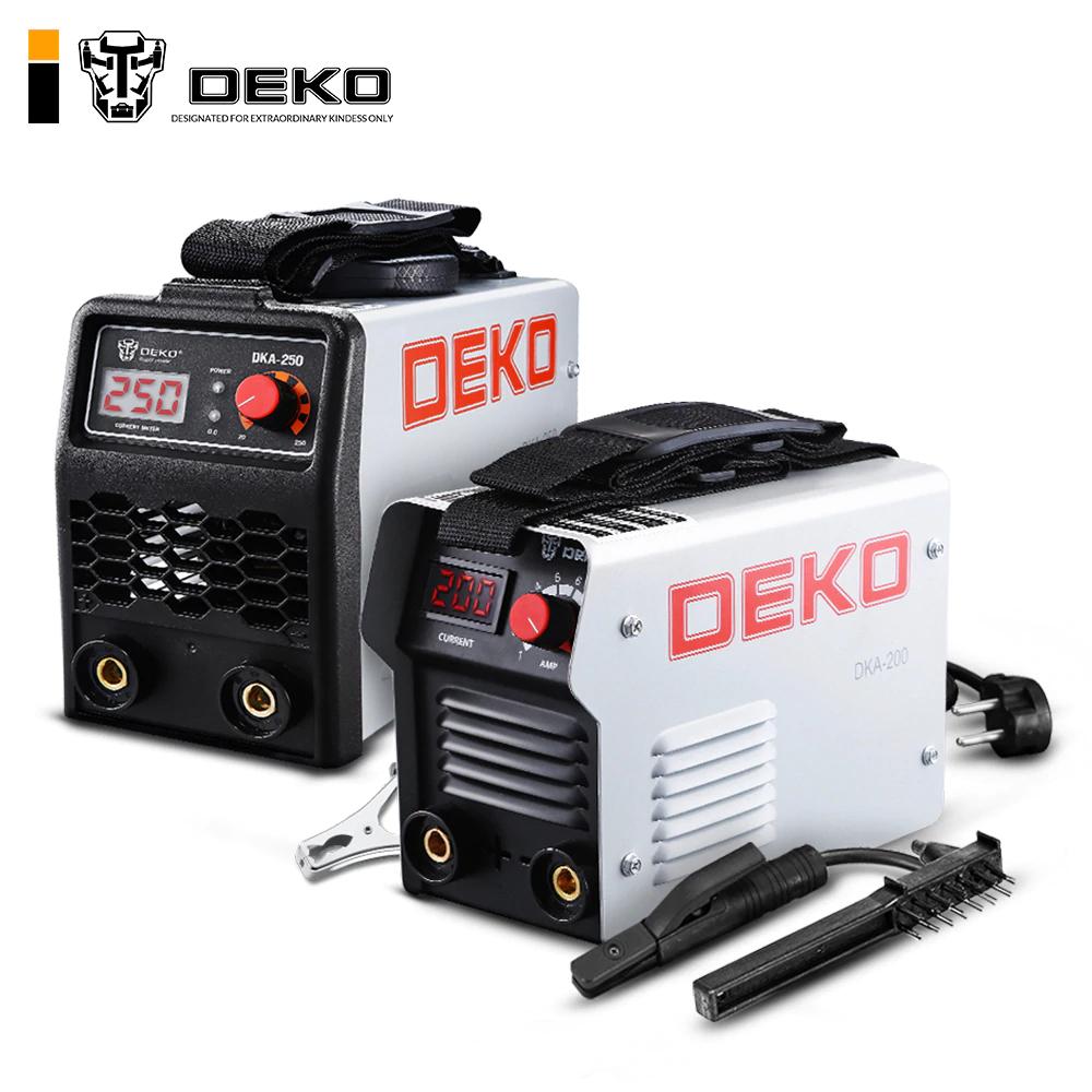 Poste à souder à l'arc inverter DEKO 200A (Entrepôt Espagne)