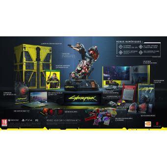 [Adhérents - pré-commande] Cyberpunk 2077 - Édition Collector sur PC, PS4 ou Xbox One + steelbook (+ 10€ sur le compte fidélité)