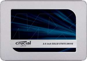 "SSD interne 2.5"" Crucial MX500 - 2 To"