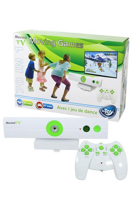 Console avec Motion capture Moving TV - 70 jeux