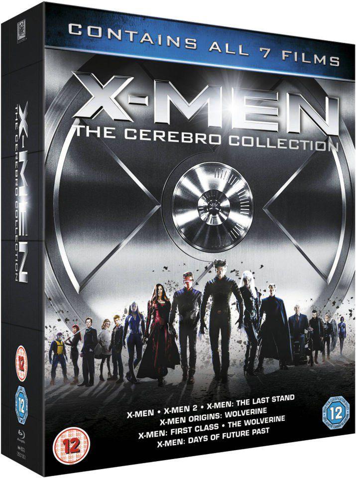 Coffret Blu-ray X-Men: The Cerebro Collection - 7 films (sans vf)