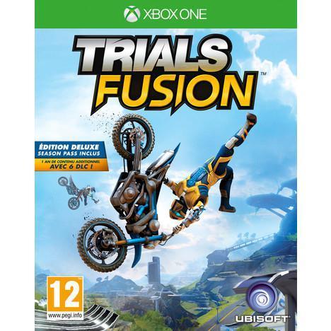 Jeu Trials Fusion sur Xbox One - Edition deluxe (Season Pass)