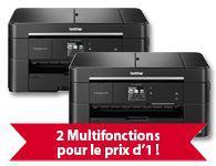 Pack de 2 imprimantes multifonction Brother Business Smart MFC-J5320DW