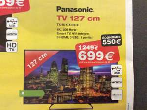 "TV LED 4K 50"" Panasonic TX50CX680e"