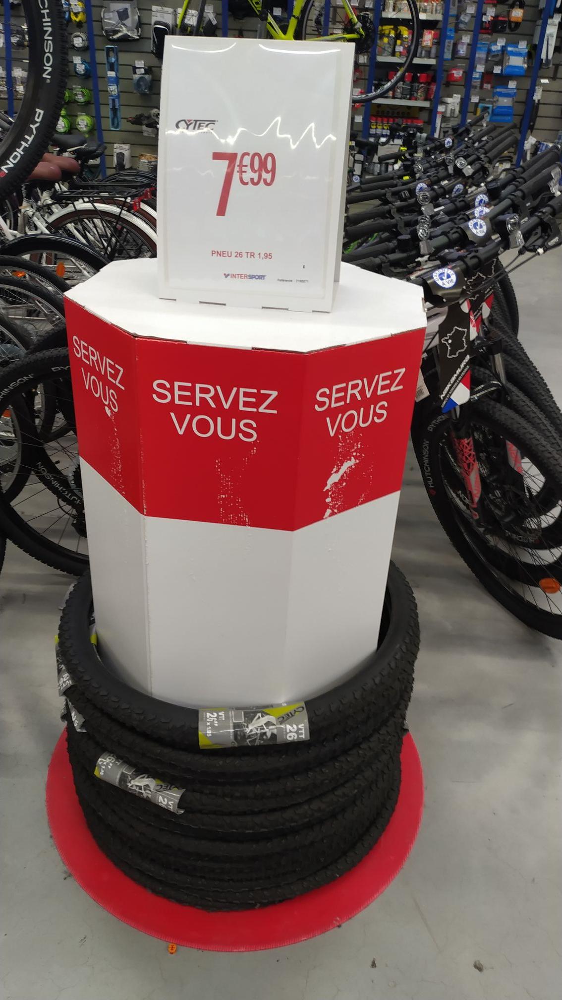 Pneu de Vélo 26 Tr 1,95 Cytec - Flers-en-Escrebieux (59)
