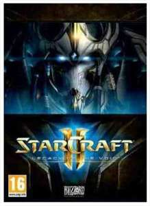 Starcraft II Legacy of The Void sur PC