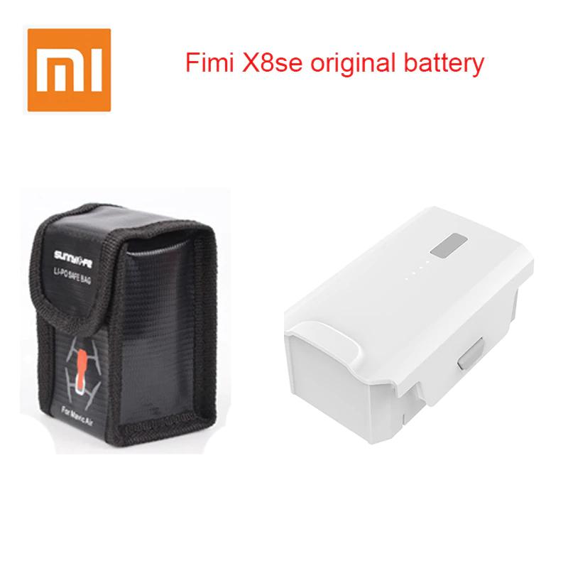 Batterie de rechange pour drone Xiaomi Fimi X8 SE (4500 mAh) + Pochette de transport