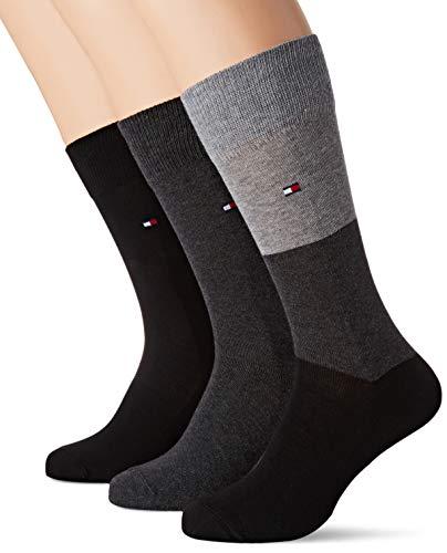 Lot de 3 Paires de Chaussettes Tommy Hilfiger SS19 pour Hommes  - Tailles : 39/42 ou 43/46