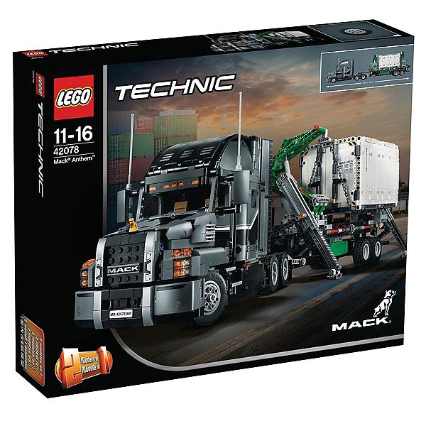Jeu de construction Lego Technic Mack Anthem 42078