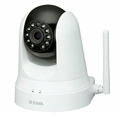 Camera IP D-Link DCS-5020L/E Réseau + Répéteur Wi-Fi Blanc