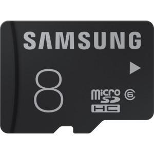 2 Cartes Micro SDHC Samsung Class 6 - 2x8 Go