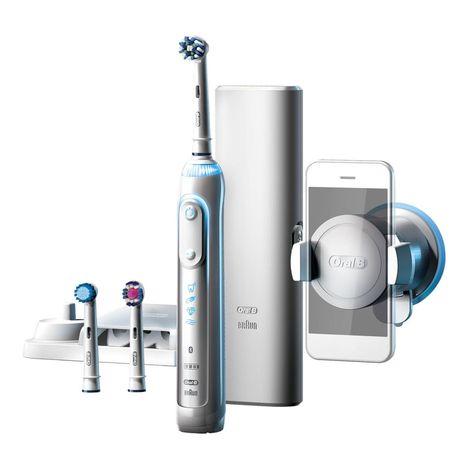 Brosse à dents électrique Oral B Genius 8000 Bluetooth (Via 139.30€ sur la carte et offre de remboursement de 60€)