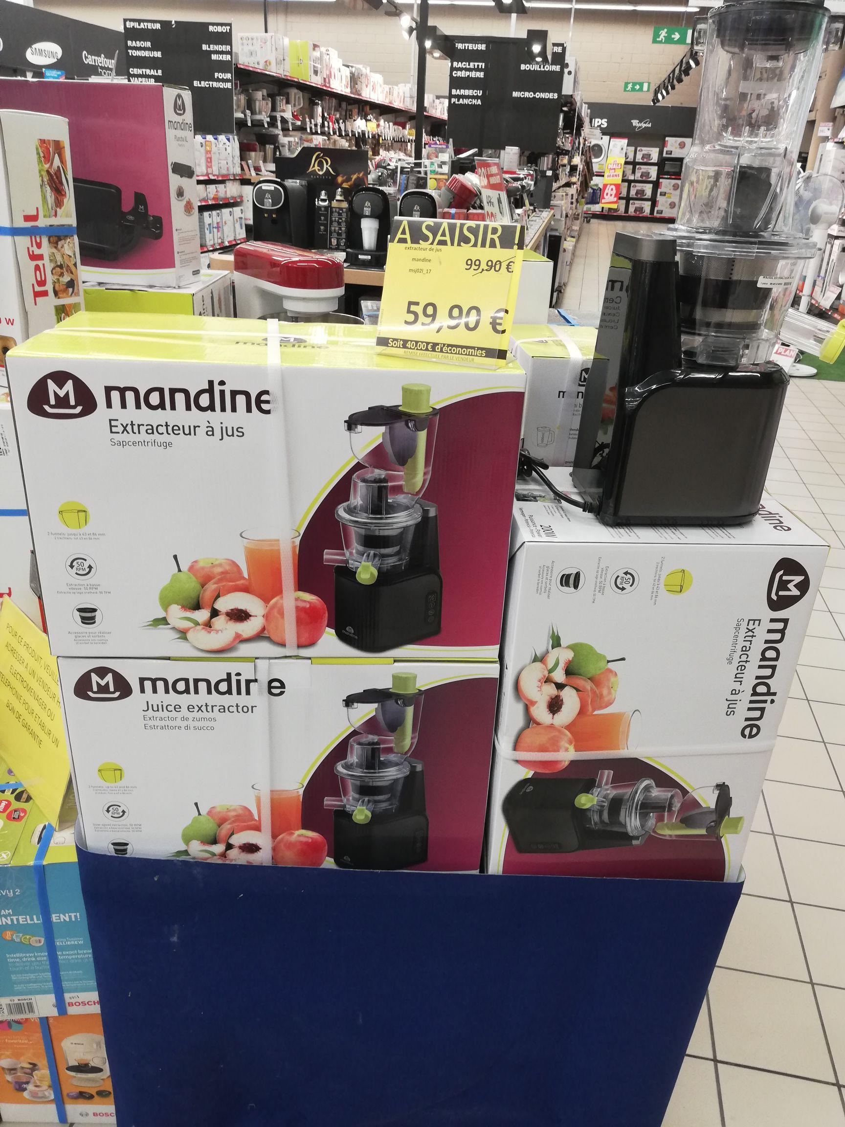Extracteur de Jus Mandine  - Meylan (38)