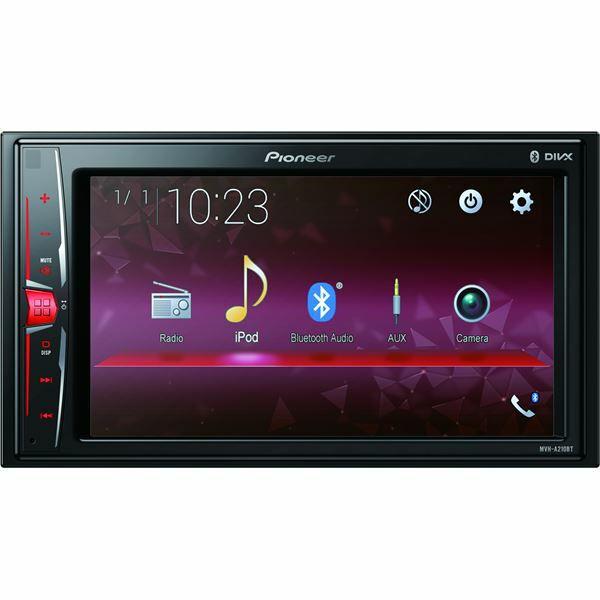 """Autoradio multimédia avec écran tactile 6.2"""" Pioneer MVH-A210BT - contrôle iPod/iPhone, Android (Via ODR de 20€) - Incaville (27)"""
