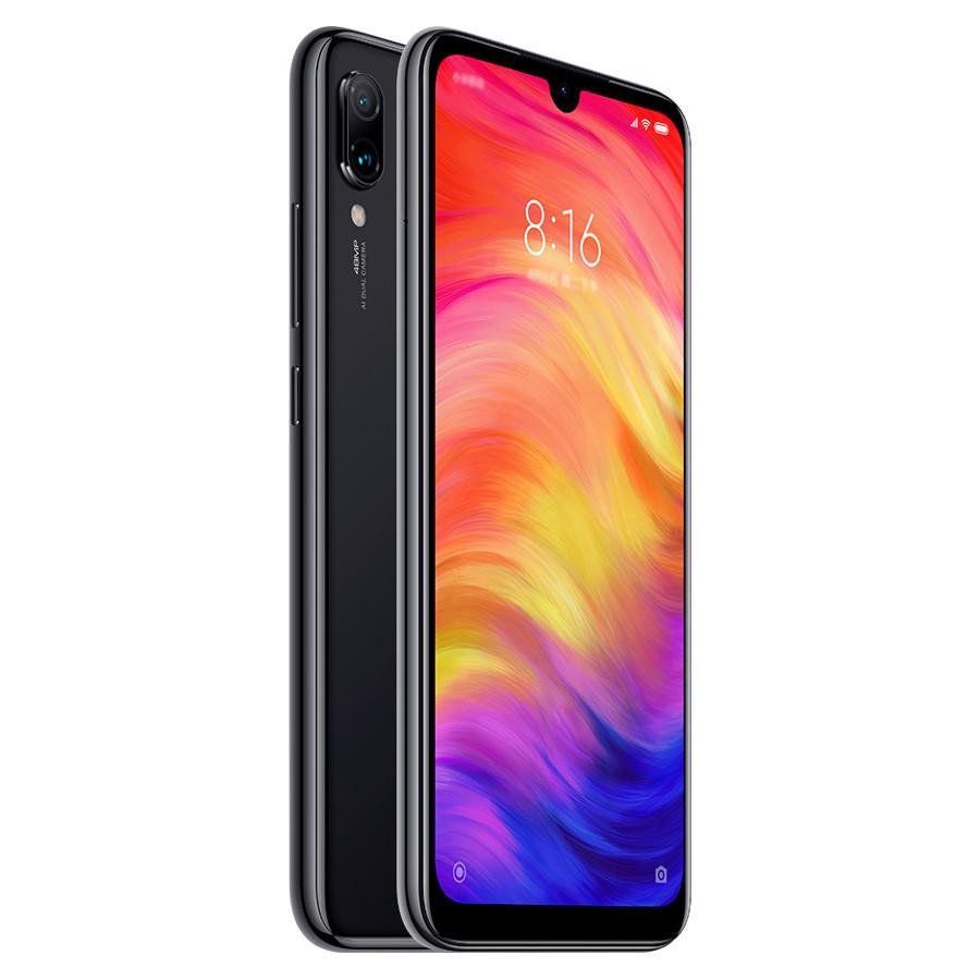 "Smartphone 6,3"" Xiaomi Redmi Note 7 - FHD+, Snapdragon 660, 3Go RAM, 32 Go, Noir et Bleu"