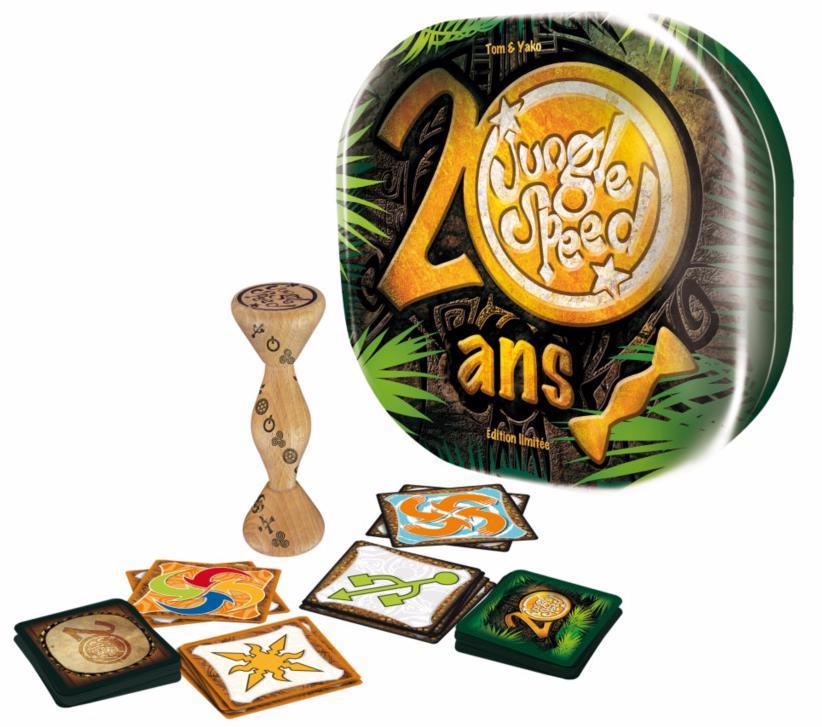 Sélection de Jeux de sociétés Asmodée - Ex : Jungle Speed edition 20 ans