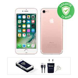 "Smartphone 4.7"" Apple iPhone 7 - 32Go, Rose (Reconditionné)"