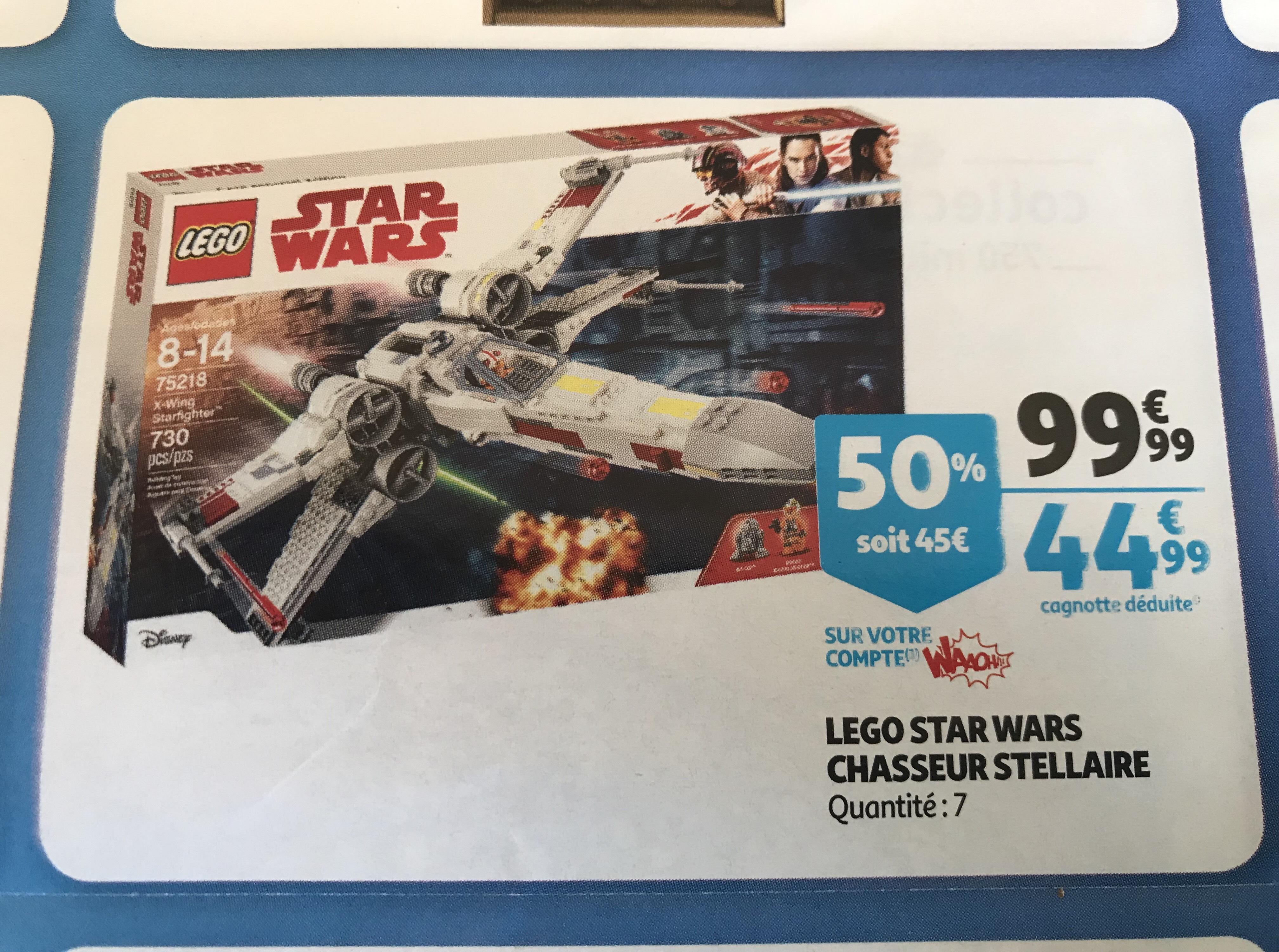 Jouet Lego Star Wars Chasseur stellaire X-Wing Starfighter - 75218 (via 45€ sur la carte de fidélité) - La Seyne-sur-Mer (83)