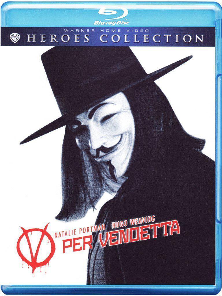 Blu-ray V pour vendetta - Import Italien