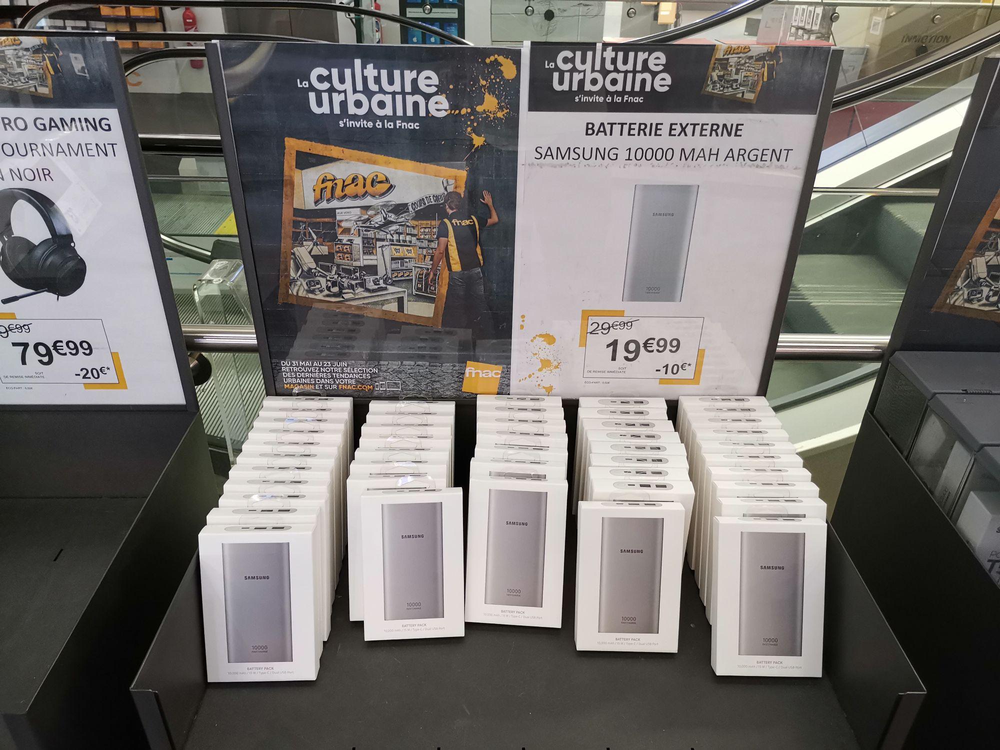 Batterie externe Samsung 10000 mah (EB-P1100CSEGWW)  - La Défense (92)
