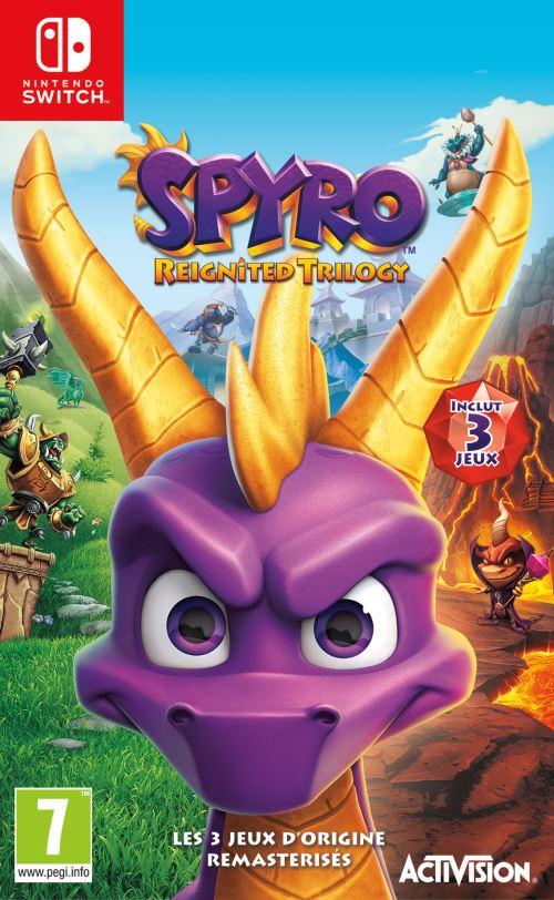 [Adhérents - pré-commande] Spyro Reignited Trilogy sur Switch + livre L'Histoire de Spyro (+ 10€ sur le compte fidélité)