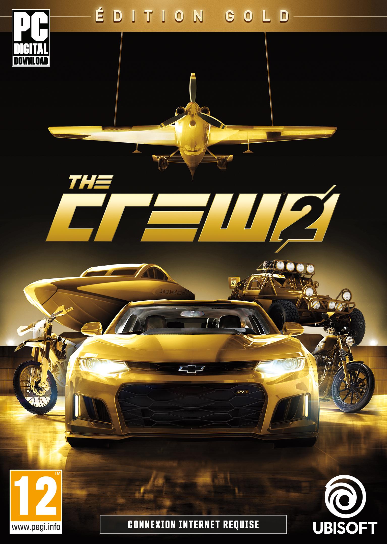 Jeu The Crew 2 sur PC - Edition Gold (Dématérialisé, Uplay)