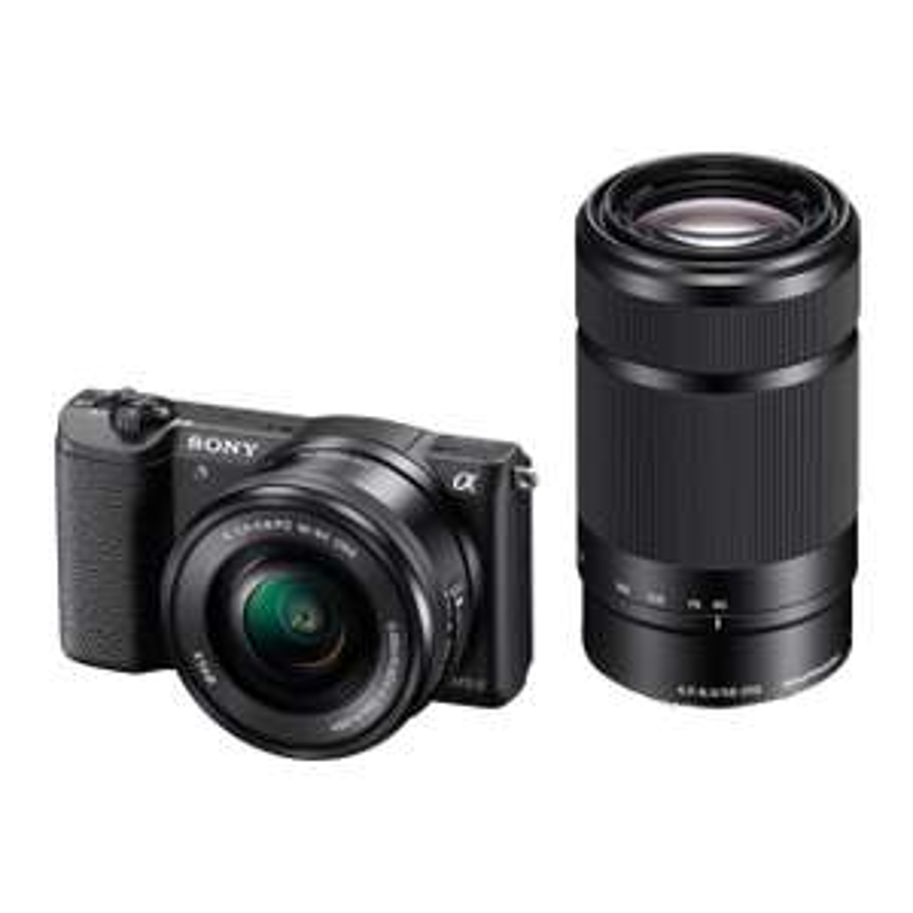"Appareil Photo hybride 3"" Sony ILCE5100YB.CEC A5100  24,7 Mpix Wi-Fi/USB/HDMI + Objectif 16-50 mm/55-210 mm Noir"