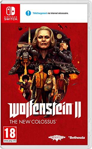 Wolfenstein II The New Colossus sur Nintendo Switch + 15€ de réduction sur Fallout 76
