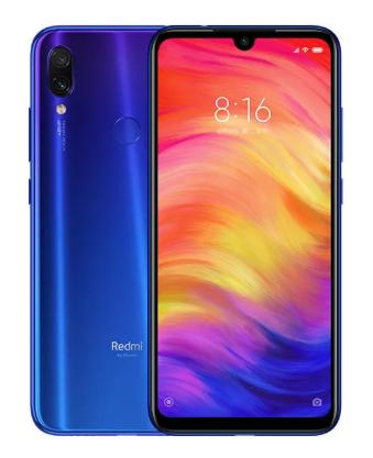 "Smartphone 6.3"" Xiaomi Redmi Note 7 - FHD+, SnapDragon 660, 4 Go de RAM, 64 Go, Global Version (B20), Bleu"