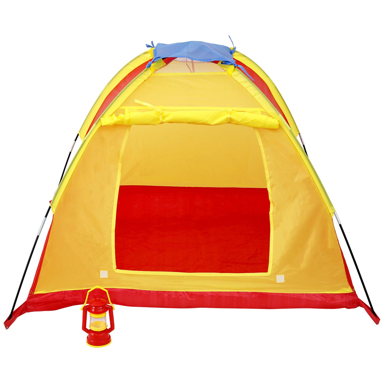 Tente de jeu avec lampe de camping
