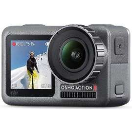 Caméra sportive DJI Osmo Action - 4K, HDR (+33,50€ en SuperPoints)