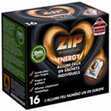 Zip Energy allume-feux sachets individuelsx16 (via 1€90 sur la carte fidélité + Shopmium) - Cambrai (59)