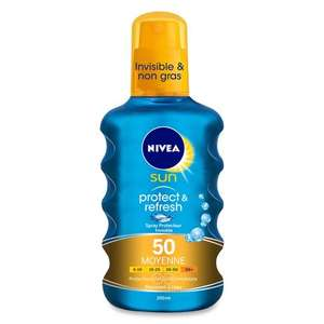 Crème solaire Nivea sun spray invisible fps50 -200ml - Villeneuve d'Ascq, Petit Forêt (59)