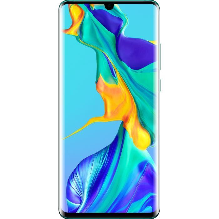 "Smartphone 6.47"" Huawei P30 Pro Dual SIM - Full HD+, Kirin 980, RAM 8Go, 128Go + Montre Connectée Watch GT"