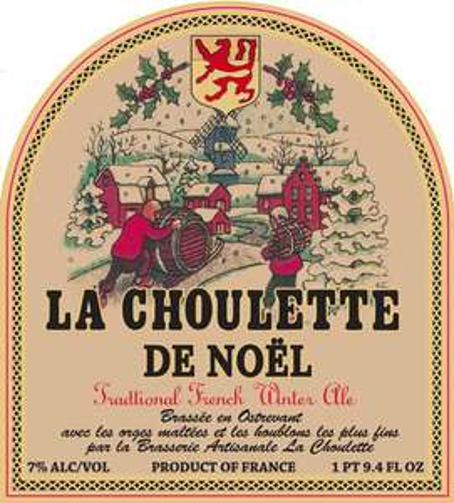 1 bouteille de bière la Choulette de Noël offerte (75cl)