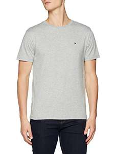 T-Shirt Tommy Hilfiger Gris Homme (Taille M)