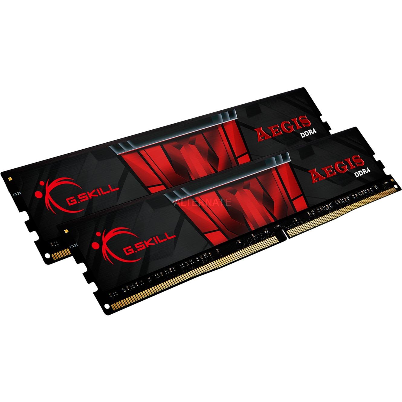 Kit mémoire RAM G.Skill Aegis 32 Go (2x16 Go) - DDR4, 3000 MHz, 288-pin DIMM