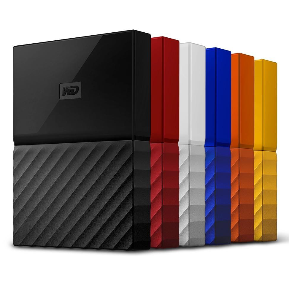 """Sélection de disques durs externes Western Digital WD - Ex : 2.5"""" My Passport - 1 To (Reconditionné - Garantie 6 mois)"""