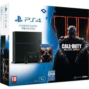 Pack Console Sony PlayStation PS4 - Edition 1 To + Call of Duty : Black Ops 3