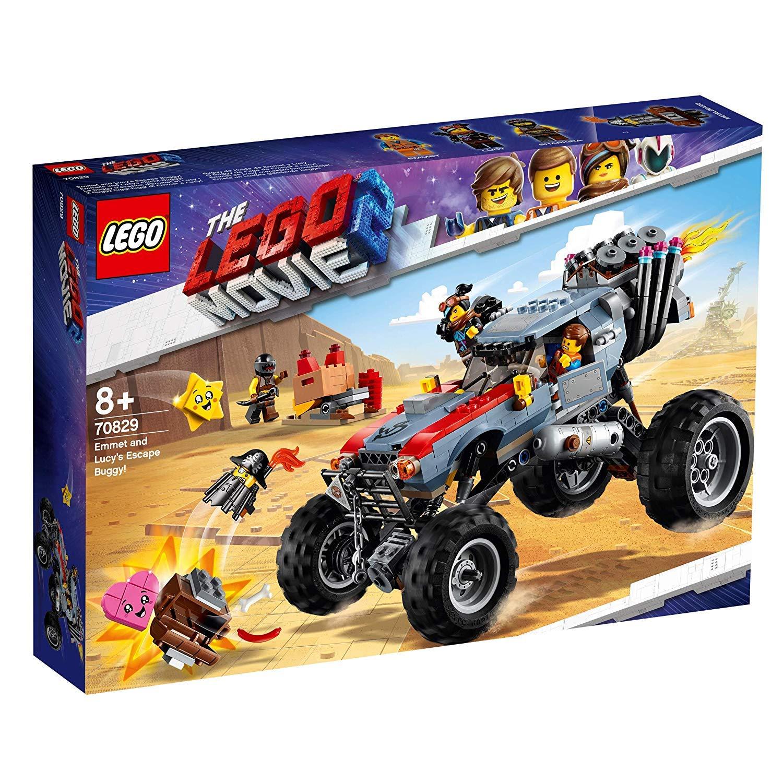 Jouet Lego The Lego Movie 2 - Le buggy d'évasion d'Emmet et Lucy ! (70829)