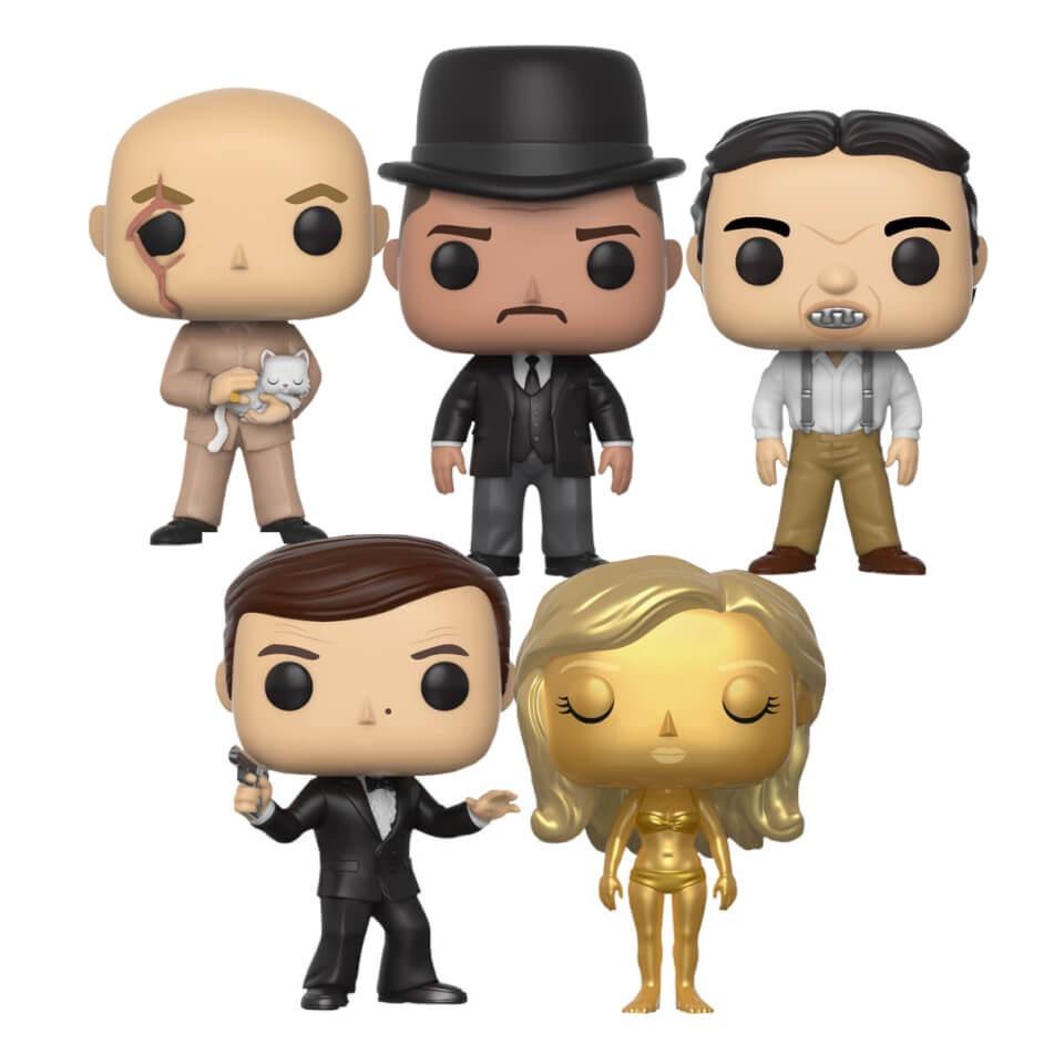 Lot de 5 figurines Pop! James Bond