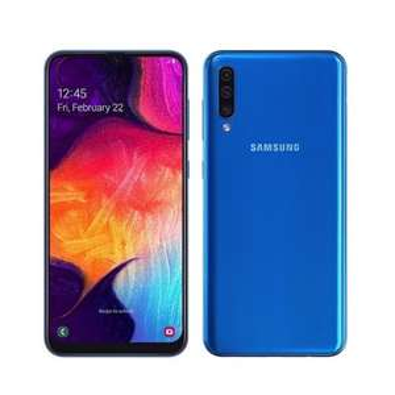 "Smartphone 6.4"" Samsung Galaxy A50 - full HD+, Exynos 9610, 6 Go de RAM, 128 Go, différents coloris"