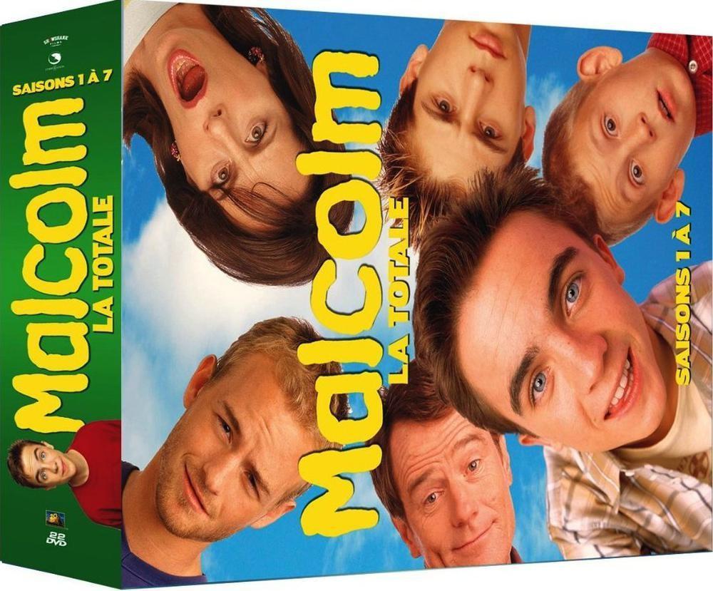Coffret DVD Intégrale Malcolm - Saisons 1 à 7